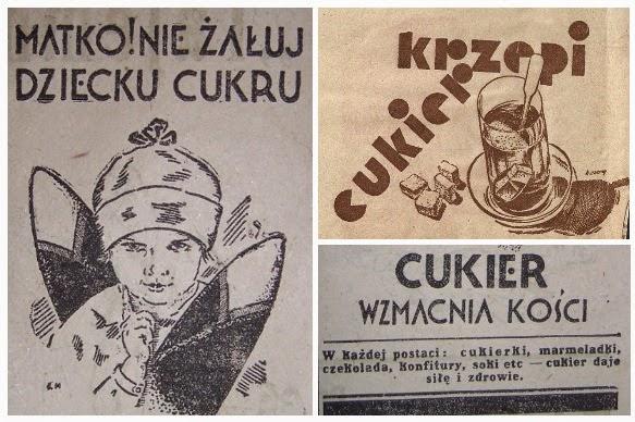 Czy wpędzanie ludzi w nałóg cukrowy zaczęło się od takich reklam?